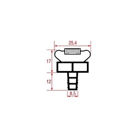 Garnitura magnetica profil 1080