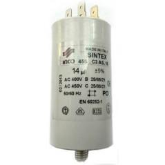 Condensator 14 microF.