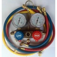 Baterie manometre R134, R404, R410, R22