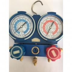 Baterie manometre HFO1234yf R22, R404A, R407C, R134a