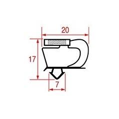 Garnitura magnetica profil 1083