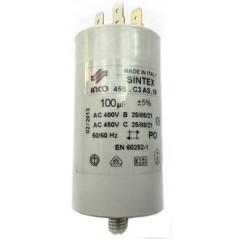 Condensator 100 microF.